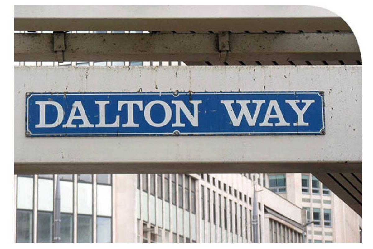 Waar moet dat heen met dalton?