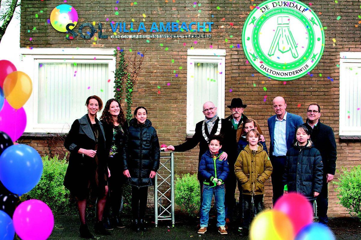 Feestelijke opening SOL Villa Ambacht, Dalton speel-ontwikkel-leerplein